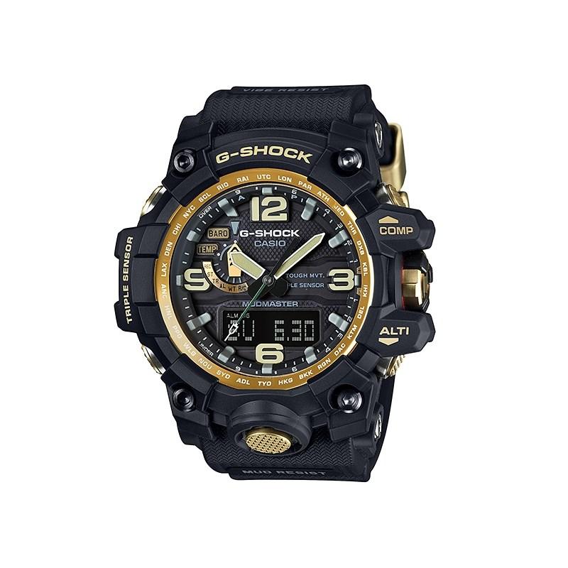 a6bb69edd43 Relógio G-Shock Mudmaster Black Gold - Back Wash
