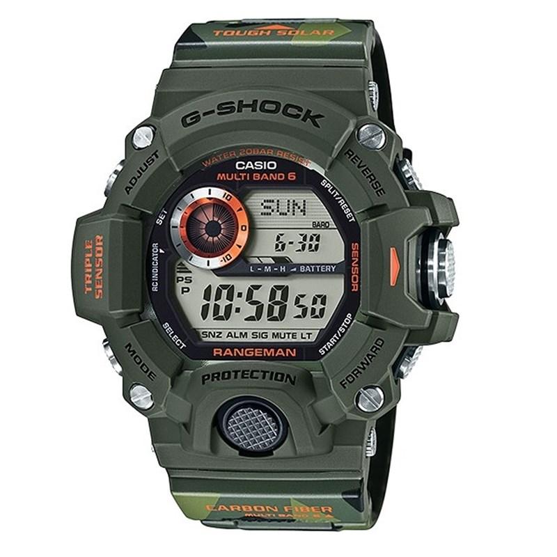 5feaf45d3e4e7 Relógio G-Shock Rangeman - Edição Limitada - Back Wash