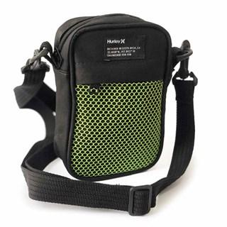 Shoulder Bag Hurley Preto Neon