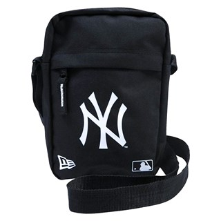 Shoulder Bag New Era NY Yankees Preta e Branca
