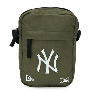 Shoulder Bag New Era NY Yankees Verde e Branca