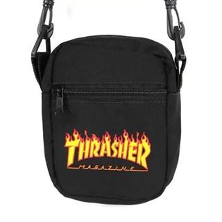 Shoulder Bag Thrasher Patch Flame Logo