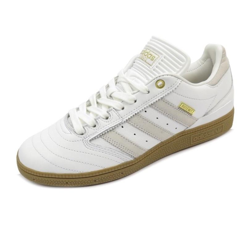 Tênis Adidas Busenitz Pro White/Gold - Edição de 10 Anos