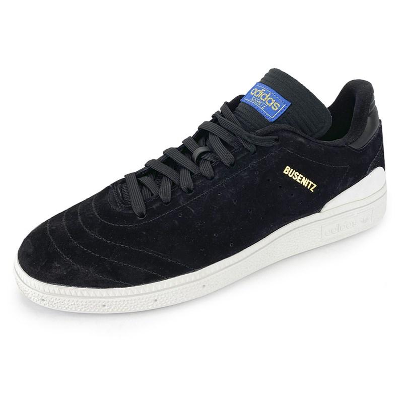 Tênis Adidas Busenitz RX Preto e Branco BY4098 - Back Wash c8b7d93a2b7a3