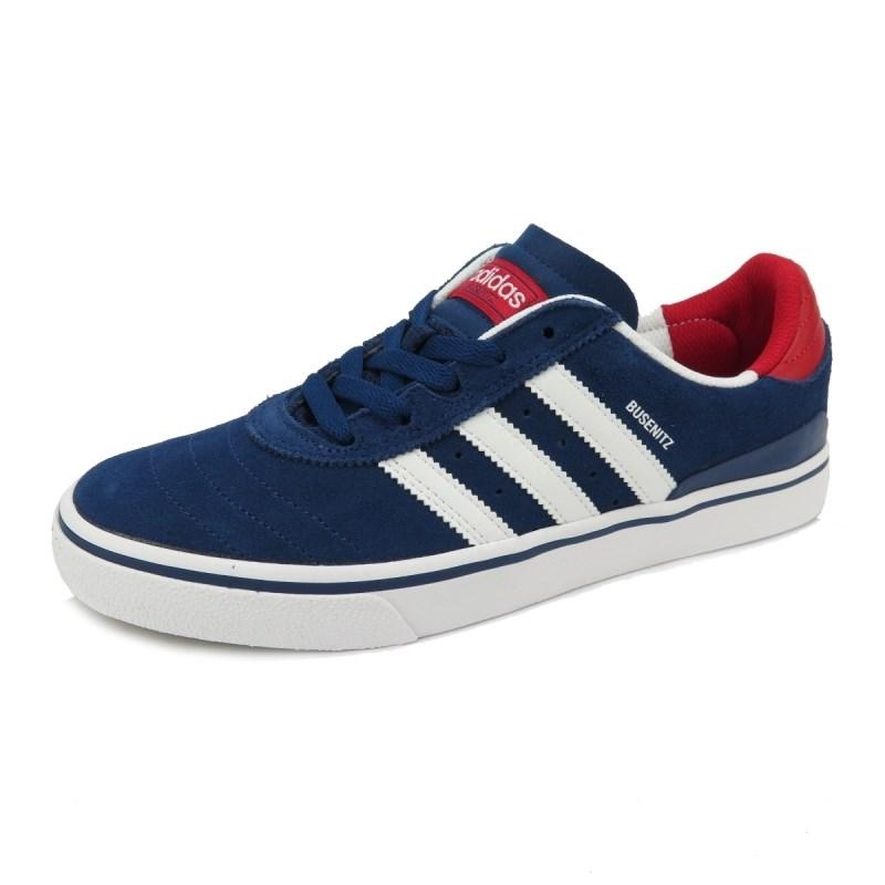 Compre Tênis Adidas Busenitz Vulc Adv Azul na Back Wash! 485f036037192