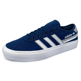 Tênis Adidas Delpala Azul e Branco