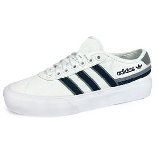 Tênis Adidas Delpala Branco e Preto