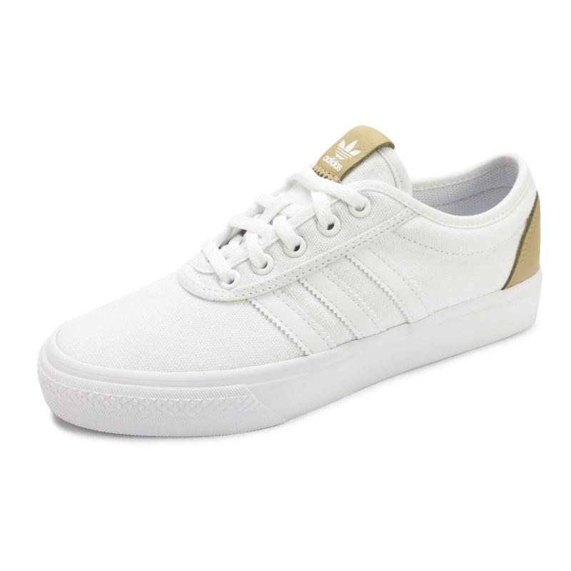 Compre Tênis Adidas Feminino Adiease Branco - BY4068 na Back Wash! 4b46c3bcdaa15