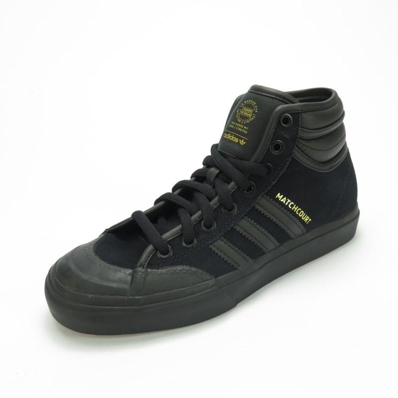 Tênis Adidas Matchcourt High RX2 Preto - BY4103 - Back Wash 3571805e3c026
