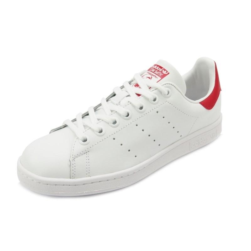 Tênis Adidas Stan Smith White/Red
