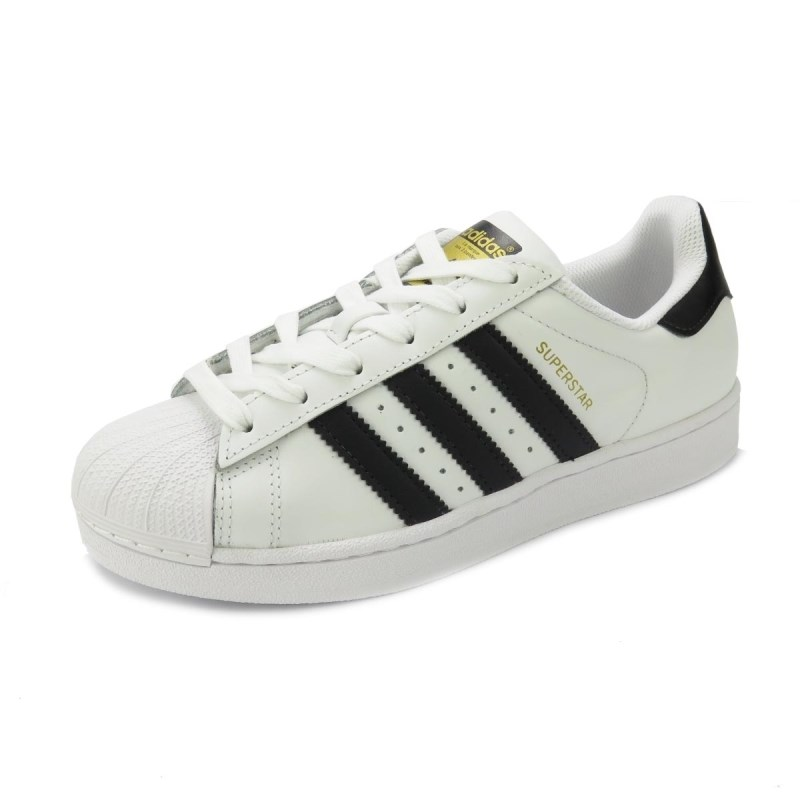 c477563fc83 Tênis Adidas Superstar White Black - Back Wash