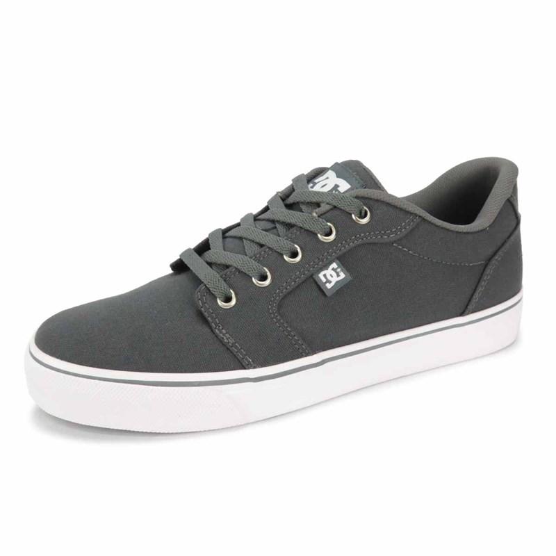 aa21e5bcc7 Tênis DC Shoes Anvil LA TX Cinza 320040R-DSR - Back Wash