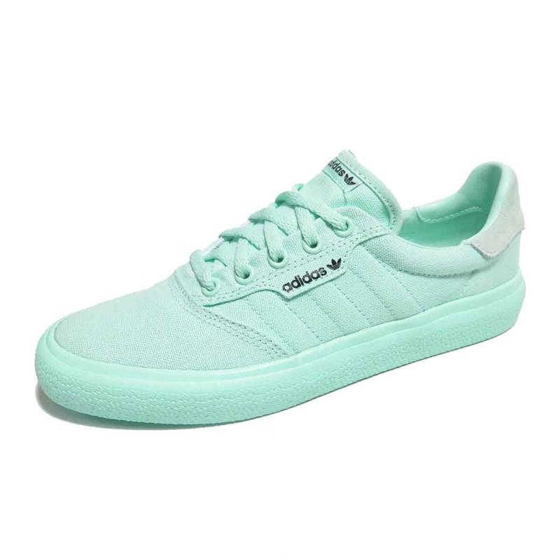 Tênis Feminino Adidas 3MC Vulc Verde - Back Wash 3f1d341cd6931