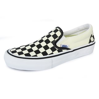 Tênis Feminino Vans Slip-On Pro Checkerboard