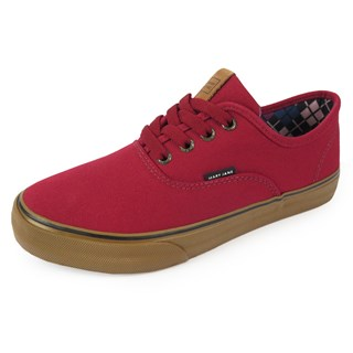 Tênis Mary Jane Venice Classic Biking Red / Avelã
