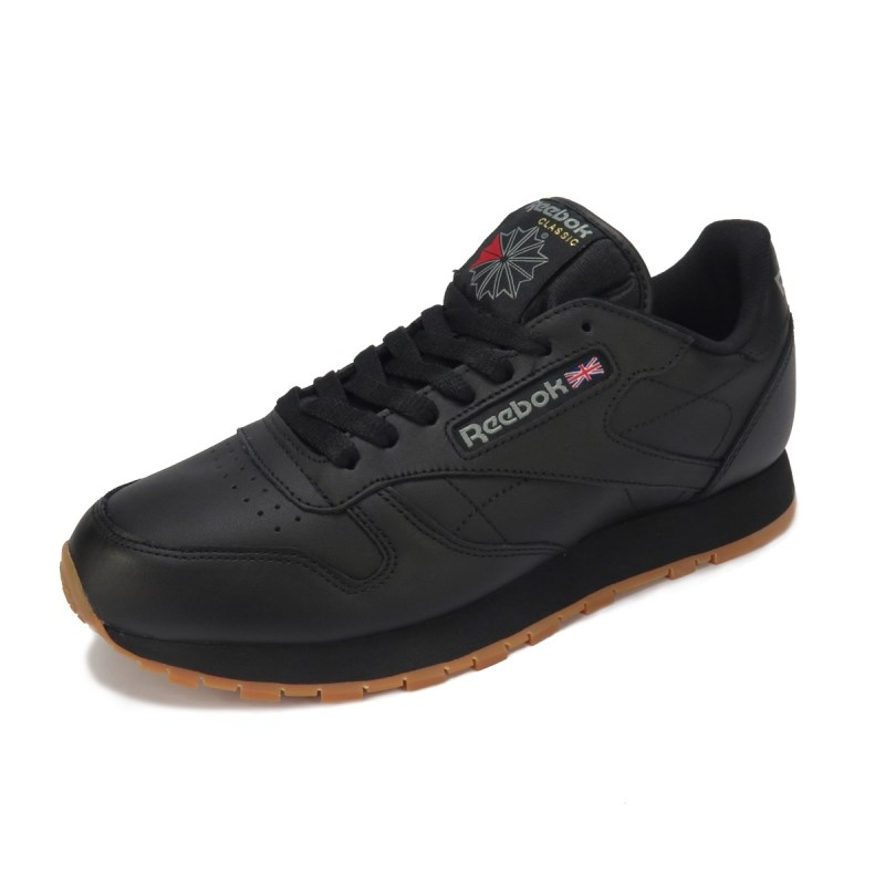 6029570fb7f Tênis Masculino Reebok Classic CM Leather Preto - Back Wash