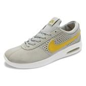 Tênis Nike SB Bruin Max Vapor Cinza Amarelo