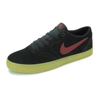 Tênis Nike SB Check Solar Preto Vermelho - 843895-069