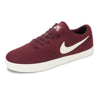 Tênis Nike SB Feminino Check Canvas Bordô - 905373-601