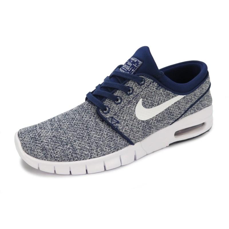 a9a3db01f6 Tênis Nike SB Stefan Janoski Max Azul 631303-416 - Back Wash