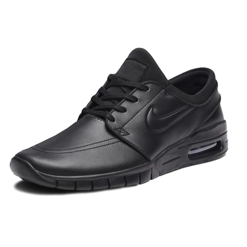 Tênis Nike Sb Stefan Janoski Max L Preto Couro 685299 009