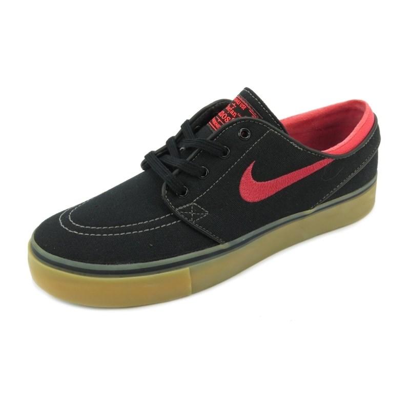 4aeb84a60531b Tênis Nike SB Zoom Stefan Janoski Preto Rosa - Back Wash
