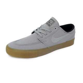 Tênis Nike SB Zoom Stefan Janoski CNVS RM Cinza e Bege