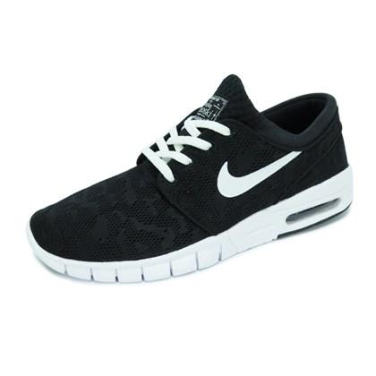 Tênis Nike Stefan Janoski Max  Black/White
