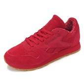 Tênis Reebok Classic CL Leather Vermelho
