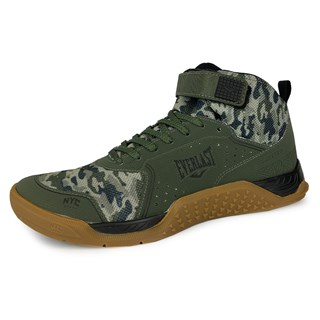 Tênis Unissex Everlast Monster Verde Camo