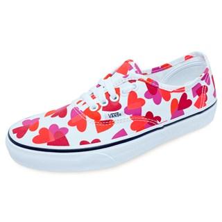 Tênis Vans Authentic Valentines Hearts True White
