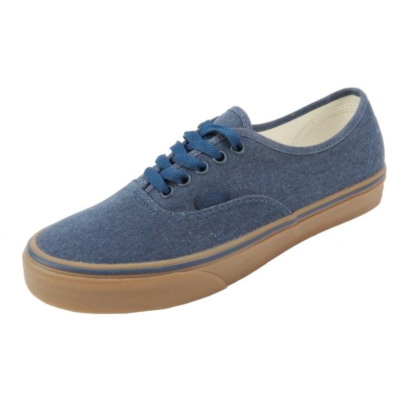 Tênis Vans Authentic Washed Canvas Jeans - Back Wash 6b1dbb257117e
