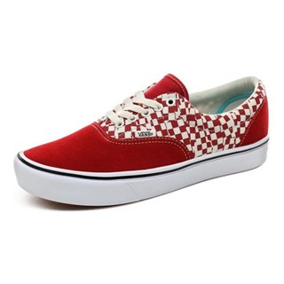 Tênis Vans Era Comfycush Tear Check Racing Red