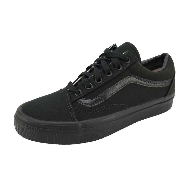 db1e2063fb Tênis Vans Old Skool Black Black - BackWash
