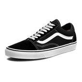 Tênis Vans Old Skool Black/White Preto