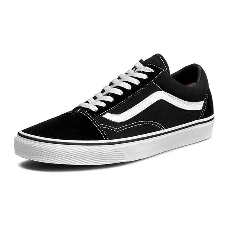 Tênis Vans Old Skool Black/White Preto