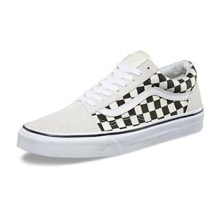 Tênis Vans Old Skool Checkerboard White Black