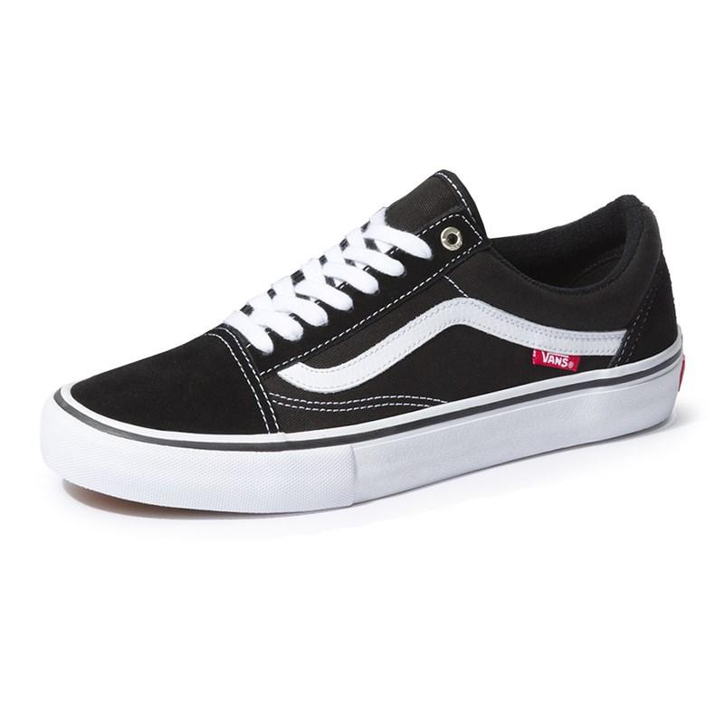 Tênis Vans Old Skool Pro Black/White