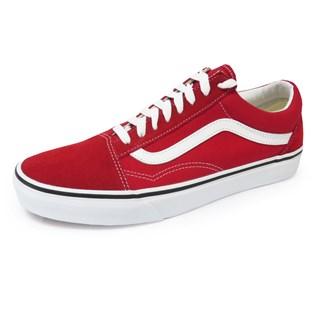 Tênis Vans Old Skool Vermelho e Branco