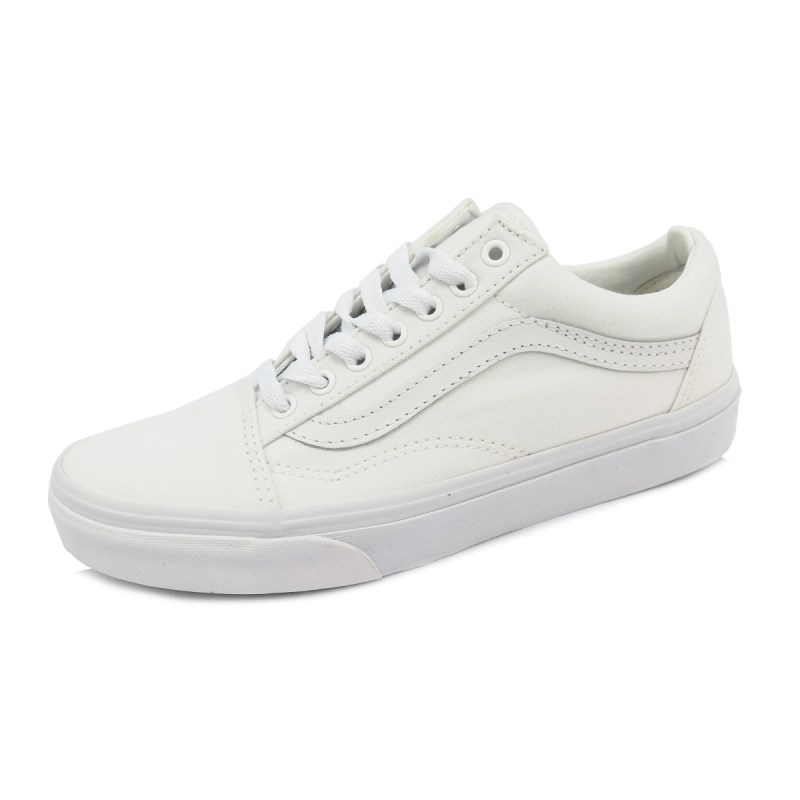 26534159b03 Compre Tênis Vans Old Skool White White na Back Wash!