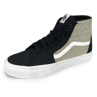 Tênis Vans Sk8-Hi Tapered 2-Tone Linen Black / True White